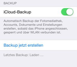 Iphone Aus Altem Backup Wiederherstellen