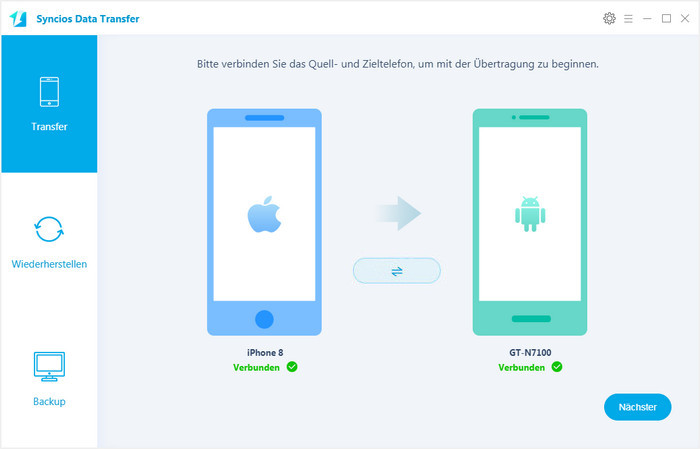 ios auf android handy installieren